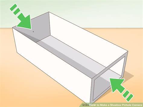 how to make a pinhole 3 ways to make a shoebox pinhole wikihow