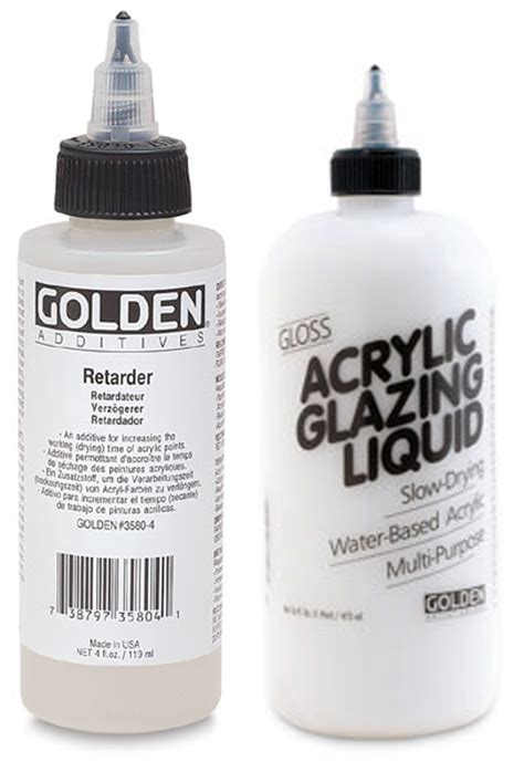acrylic paint retarder how to use acrylic gels mediums part 1