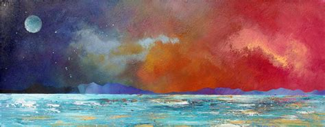 spray painter scotland paintings prints of the isles of mull islay and iona