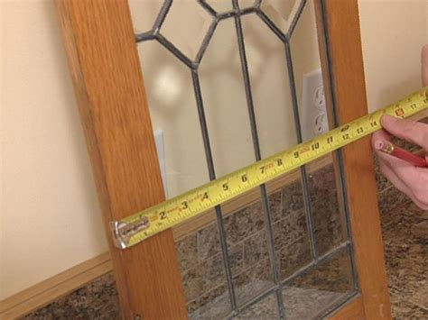 how to fix cabinet door panel how to add antique leaded glass to cabinet doors how tos