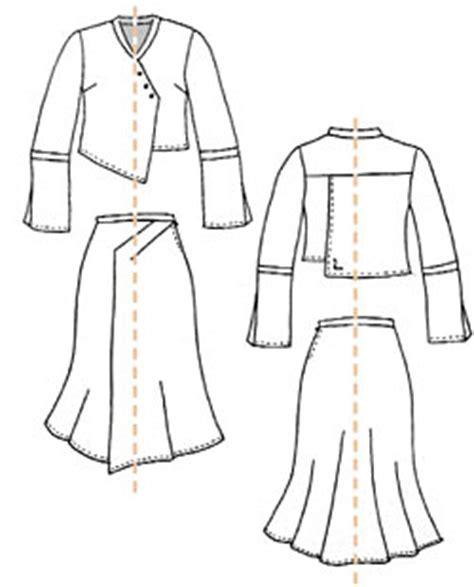 Simple Asimetris Knitt Dress ilustrasi