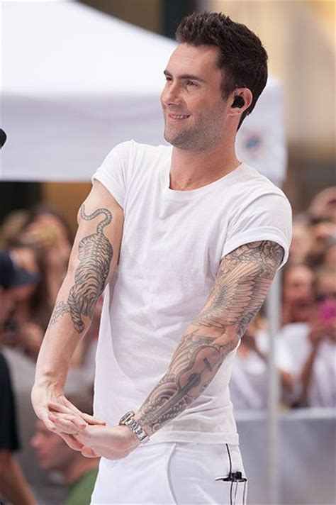 adam levine tattoo sleeve 13 tattoos that freakin rule we inspiration