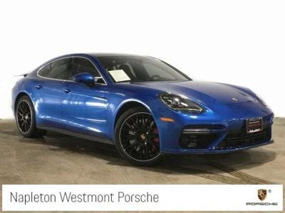 porsche panamera 2017 sunroof blue porsche in illinois for sale used cars on buysellsearch