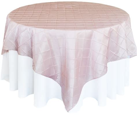 pintuck taffeta table overlays wholesale