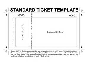 ticket size template ticket size template raffle creator print tickets