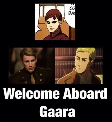 Welcome Aboard Meme - naruto 187 humor 187 meme gaara s new haircut quot welcome