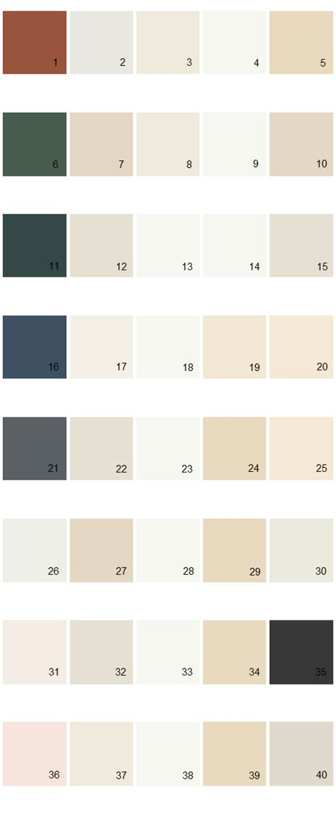 behr paint colors palette 04 house paint colors