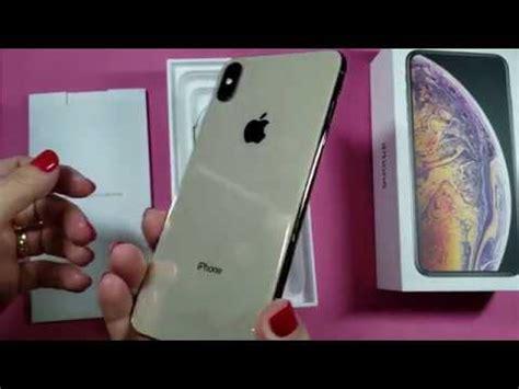 unboxing do iphone xs max gold dourado de 512gb