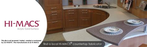 Hi Max Countertops by Design With Translucent Solid Surface Himacs Countertops