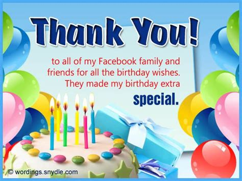 thank you letter to my on birthday thank you for birthday wishes on