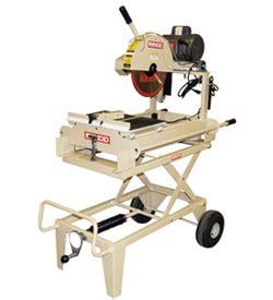 gas powered masonry table saw table tile saws runyon equipment rental