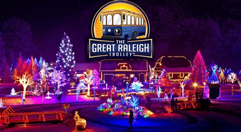 best lights in nc lights the great raleigh trolley