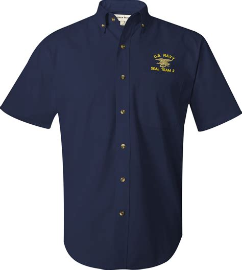 Shirt Navy u s navy custom embroidered sleeve button