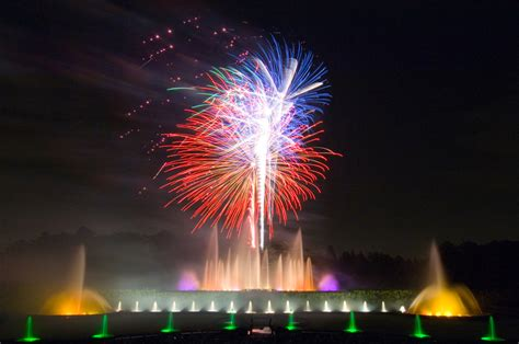 Longwood Gardens Fireworks by Water A Magical Combination Longwood Gardens