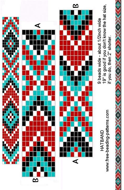 loom beading bracelet pattern beading patterns