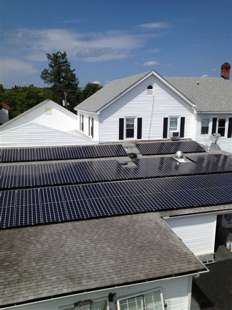 amelia roof rooftop solar array dominion innovations inc