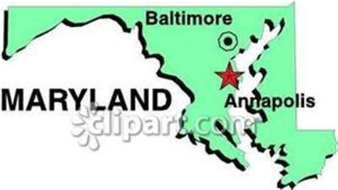 maryland map with capital maryland thinglink