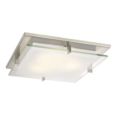 Ceiling Recessed Lighting Modern Satin Nickel Square Decorative Recessed Lighting Ceiling Trim 10471 09 Destination