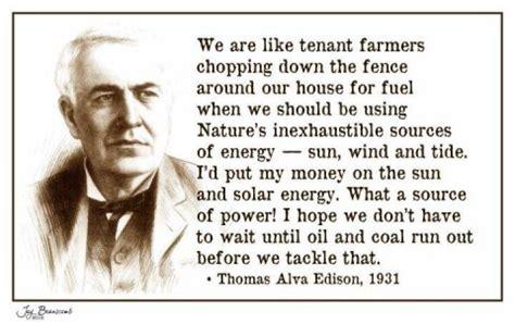 thomas edison   renewable energy  solar cleantechnica