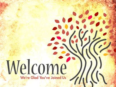 welcome themes for ppt image welcome powerpoint themes autumn trees