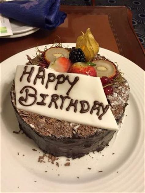birthday cake   hotel picture  atmosphere dubai tripadvisor