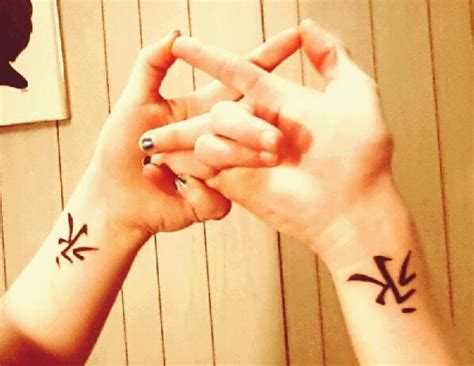 symbolic tattoos for couples couples matching eternal infinity symbol