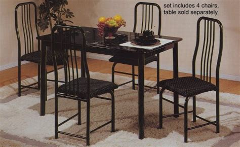 black metal dining room chairs set of 4 black metal frame dining room chairs angela