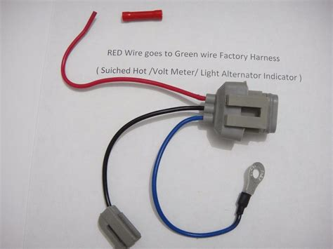 ford 3g alternator conversion harness connector 1 wire ebay
