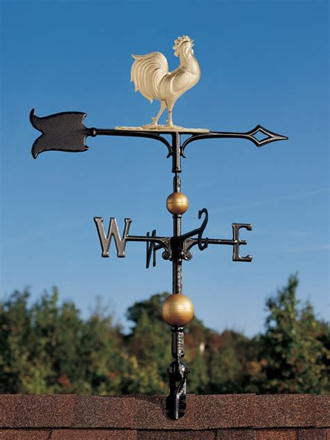A Weather Vane Weathervanes 30 Quot Bodied Rooster Weathervane