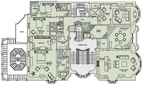 Mansion House Floor Plan | victorian mansion floor plans luxury mansion floor plans