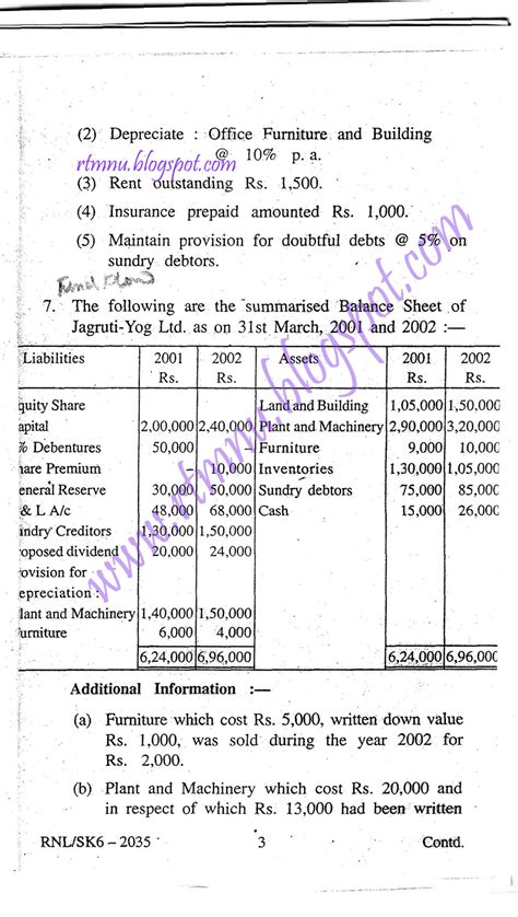 Nagpur Mba College List by Nagpur S Home Managerial Accounting Paper 3