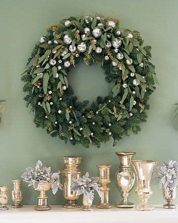 holiday decorating with gold and silver home decorating