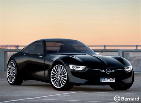 Opel Gt Car by Bernard Car Design 2019 Opel Gt