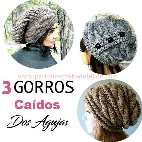 gorrosdos agujas on pinterest tejido tejidos and sombreros sombreros croch 233 and sombreros de ganchillo on pinterest