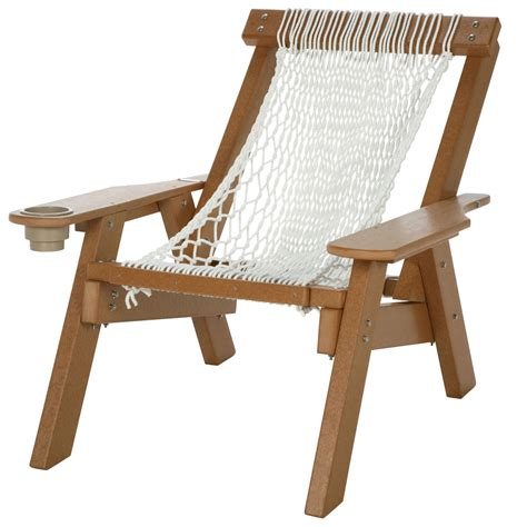 Rope Chair by Cedar Durawood Single Rope Chair