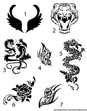 how to draw tattoo designs on paper 3 easy ways to create a sharpie wikihow