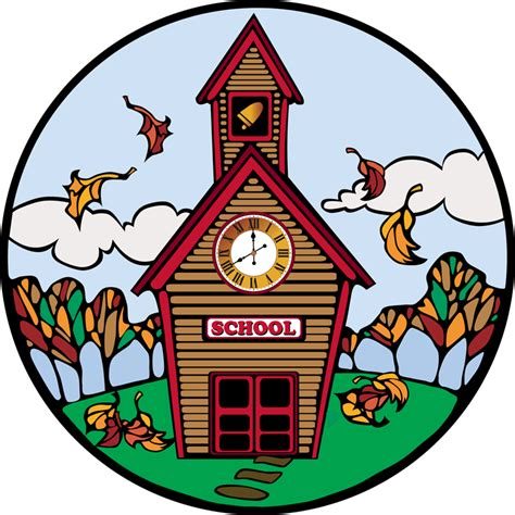 Clipart Of A School day of school clip clipart best