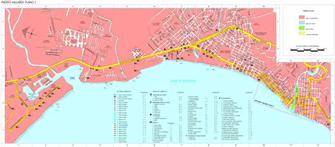 vallarta world map map of vallarta