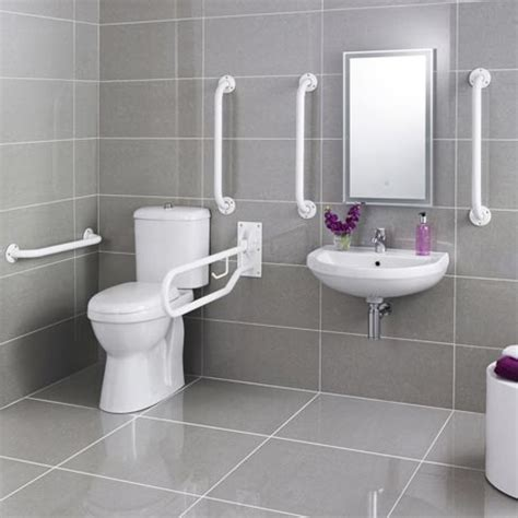 disabled bathrooms uk premier doc m pack disabled bathroom toilet basin and