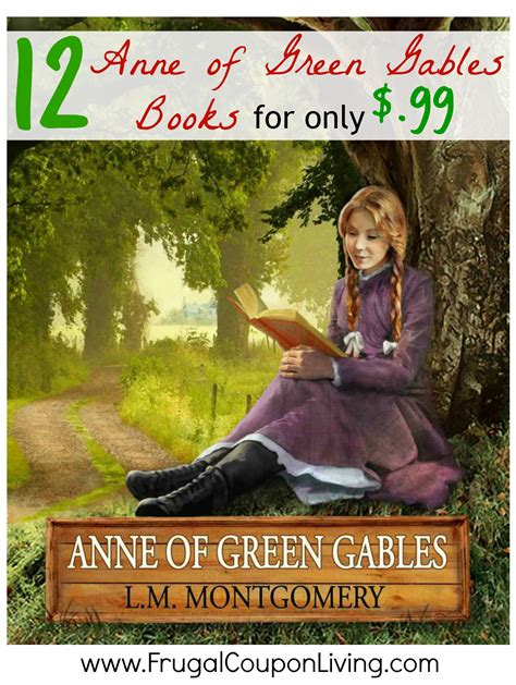 99 for 1 books of green gables kindle books 12 for only 1 99