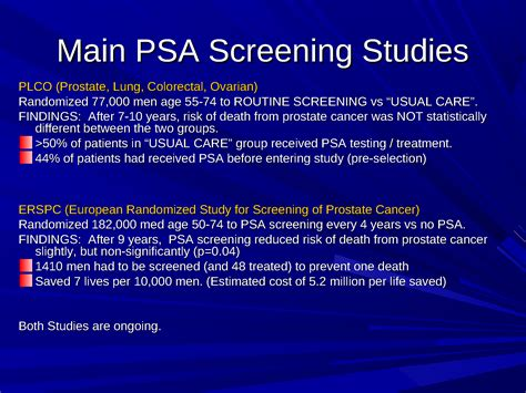 prostate screening guidelines 100 prostate screening guidelines racial