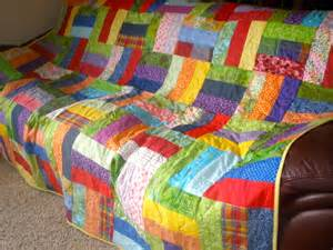 tips sewing multi colored quilt