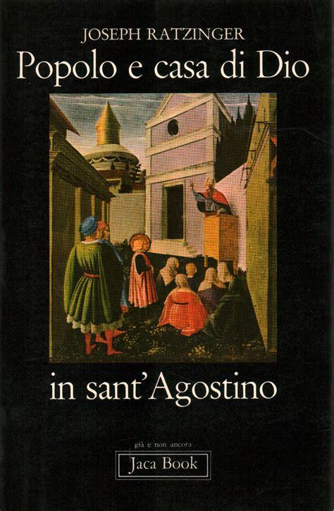 libreria sant agostino popolo e casa di dio in sant agostino joseph ratzinger