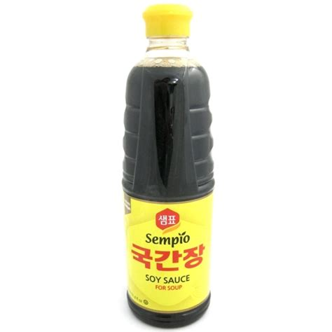 Sempio Soy Sauce For Soup 930ml buy korean soy sauce for soup kuk gan jang guk gan jang shop in the uk and