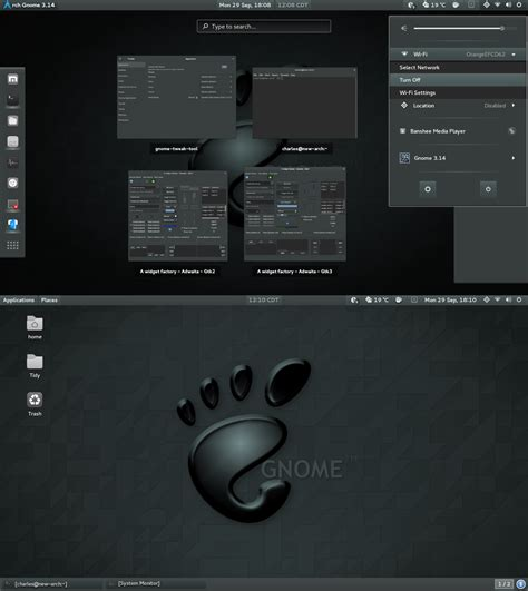 gnome themes adwaita adwaita dark gnome shell 3 14 by cbowman57 on deviantart