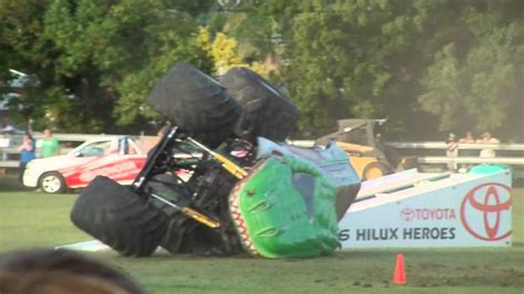 monster truck crash videos youtube raptors rage monster truck crash youtube