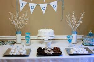 winter snowflake baby shower ideas