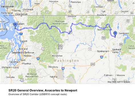 map of us highway 10 washington seeks federal recognition of us bicycle route