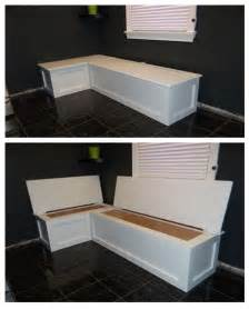 kitchen banquette with storage home deco