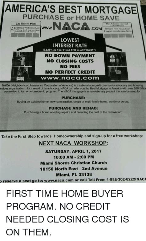 naca home ownership avie home